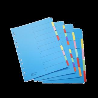 Register / Trennblätter aus Karton